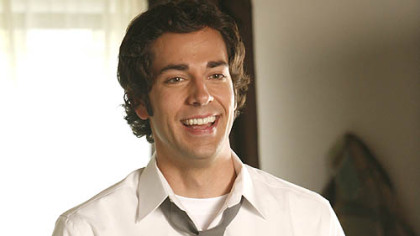 Zachary Levi is Chuck Bartowski in the NBC series &quot;Chuck.&quot;