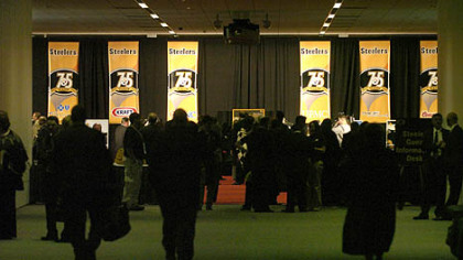 The Steelers 75th Season Gala at the David L. Lawrence Convention Center.