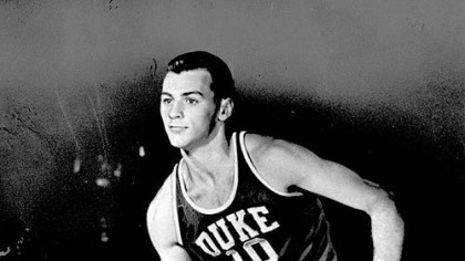1952 college player of the year, Duke's Dick Groat.