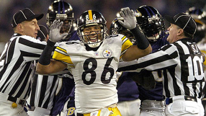 Steelers Hines Ward (vs. Ravens 11/05/07)