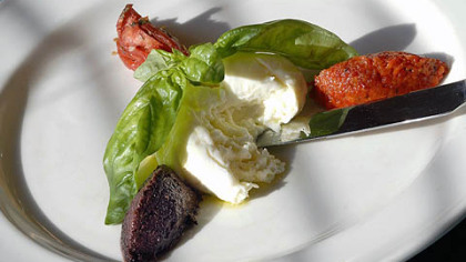 We'll pair artisanal cheeses such as burrata  with wines from around the world.