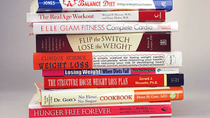 These books are just a sampling of those that will be released early next year to help people with their dieting and workout New Year's resolutions.