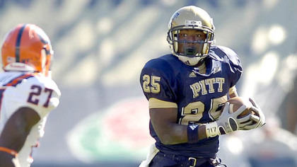 Pitt's LeSean McCoy ran for 140 yards.