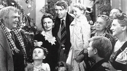 "Frank Capra's 1946 film ""It's a Wonderful Life"" will air Dec. 15 on NBC."