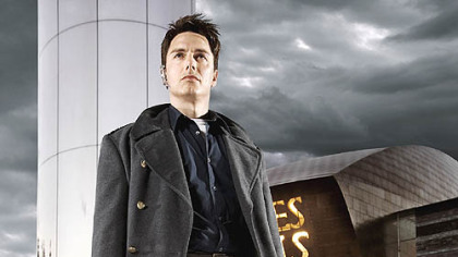 "John Barrowman plays the invincible Capt. Jack Harkness in BBC America's ""Torchwood.""