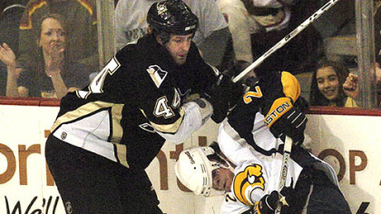 Defenseman Brooks Orpik and the Penguins face the Canadiens tonight at Mellon Arena.