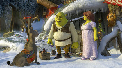 "It's Christmas Eve, and everyone except Shrek is in the holiday spirit in ""Shrek the Halls,"" premiering tonight on ABC."