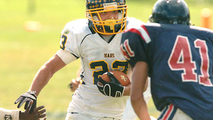 Mars coach Scott Heinauer on WPIAL rushing champion Bill Bair -- &quot;I don&#039;t know if he understands the magnitude of what he&#039;s doing.&quot;