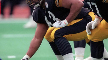 Steeler Pro Bowler center Dermontti Dawson.