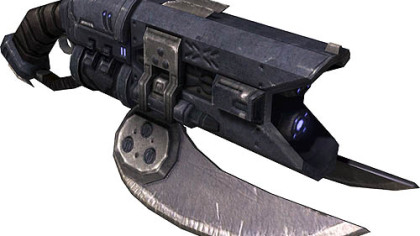 The Brute Spiker is a vicious and dangerous rifle that holds 48 spikes per clip.