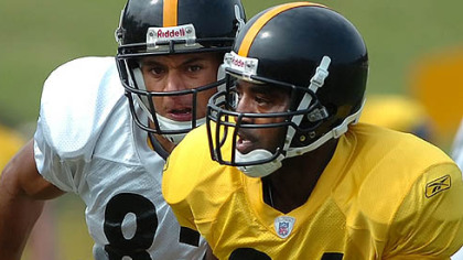 Steelers 10-year veteran cornerback Deshea Townsend is still a starter.