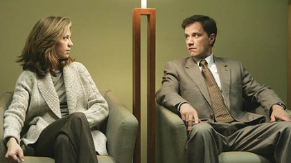 In HBO&#039;s &quot;Tell Me You Love Me,&quot; Ally Walker and Tim DeKay portray one of the couples whose lives are intimately explored.