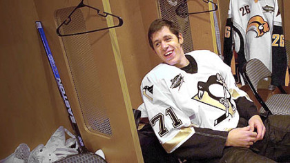 The Penguins' Evgeni Malkin