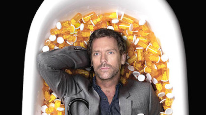 Hugh Laurie as Dr. Greg House.