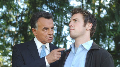 Ray Wise as the Devil and Bret Harrison as Sam star in &quot;Reaper&quot; on The CW.