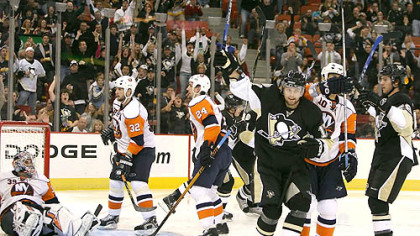 Was Thursday's win against the Islanders at Mellon Arena enough to get the Penguins going? (vs. Islanders 11/15/07)