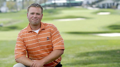  Greg Niendorf, a member of the grounds crew at Oakmont Country Club, earned his turf grass management certificate online from the Penn State World Campus.