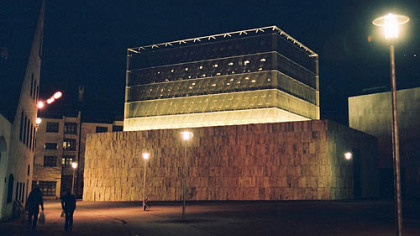 Munich&#039;s new synagogue opened on Nov. 9, 2006 -- the anniversary of Kristallnacht when many synagogues in Germany were destroyed by the Nazis, including two in Munich.